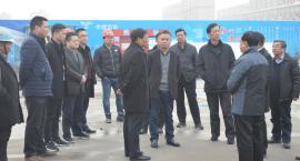 泰兴市委张书记一行领导再次莅临视察泰兴万达广场